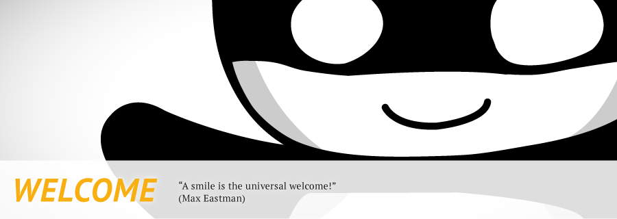 Welcome-Banner
